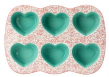 Ashley Thomas Six Hearts Cake Mould